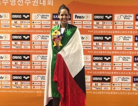 سارة تُهدي الإمارات ميدالية ثالثة في مونديال السباحة